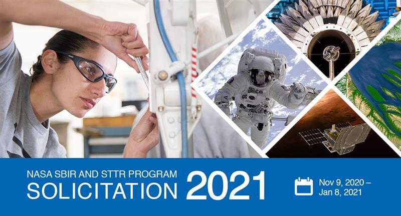 2021 NASA SBIR/STTR Phase I Solicitation