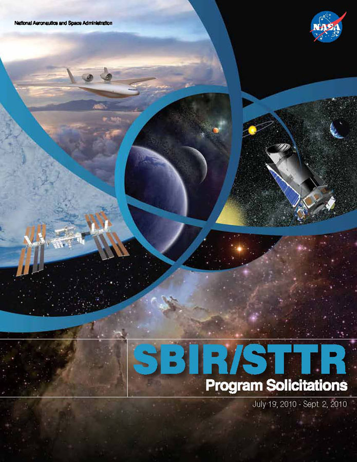 SBIR/STTR 2010 Phase I Solicitation Cover