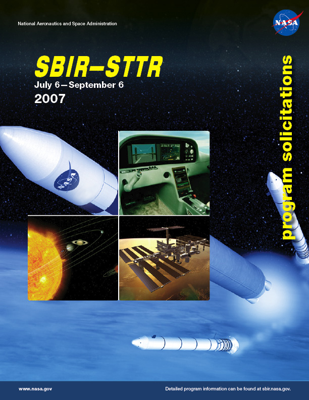 SBIR/STTR 2007 Phase I Solicitation Cover