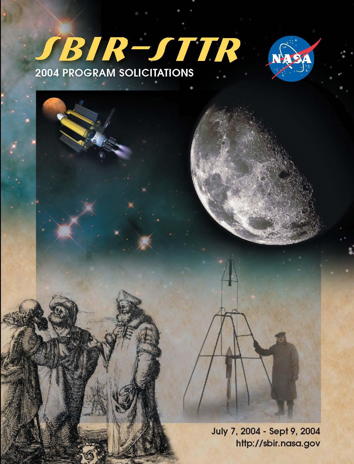 SBIR/STTR 2004 Phase I Solicitation Cover