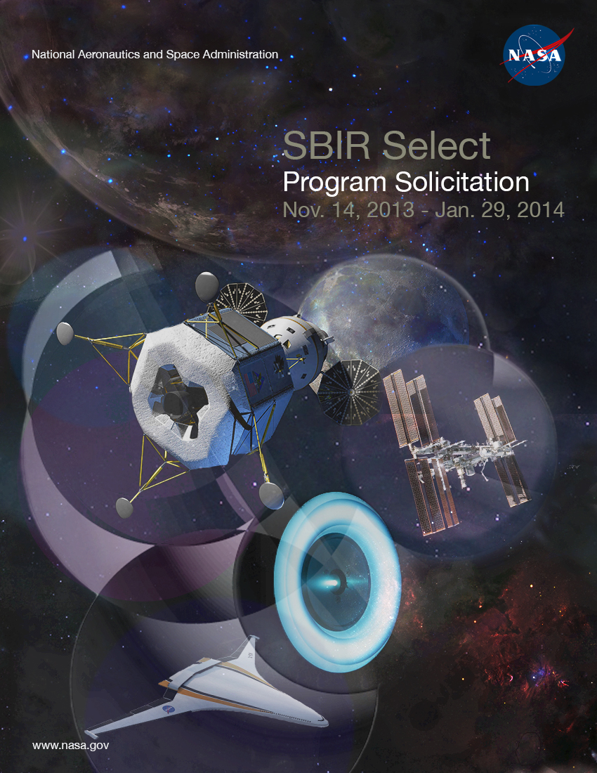 SBIR Select 2014 Phase I Solicitation Cover