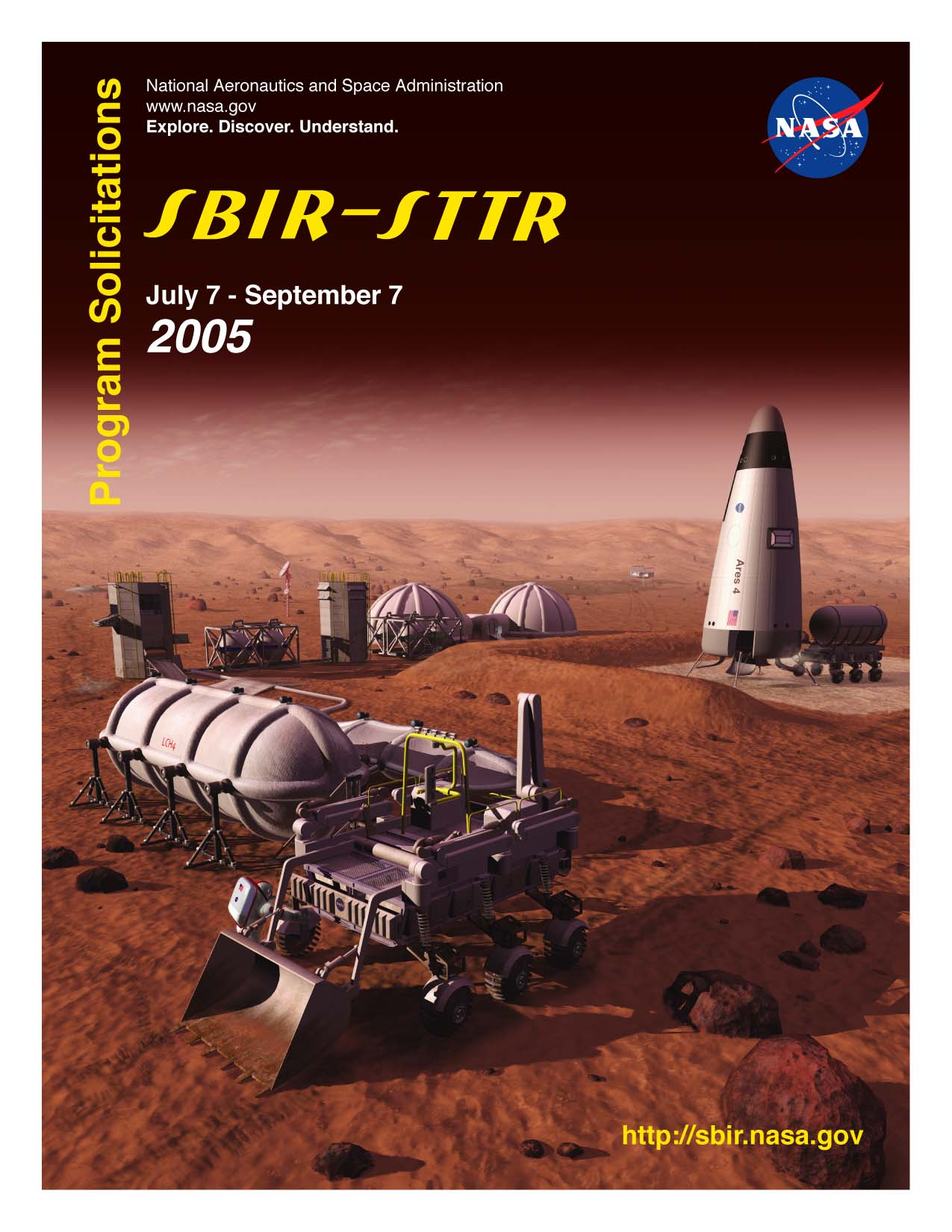 SBIR/STTR 2005 Phase I Solicitation Cover